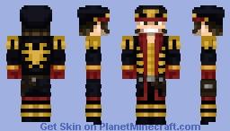 Commissar Ciaphus Cain (Warhammer 40k) Minecraft Skin