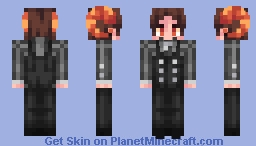 Helping you with your bucket list in exchange for your soul - Demon OC - Alts in Desc. {Poppy-Reel} Minecraft Skin