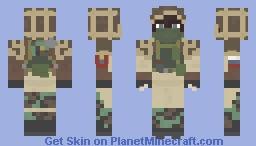 Kapkan Rainbow six Siege Minecraft Skin