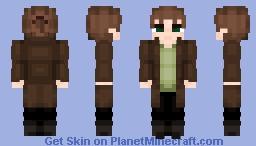 Eren Jaeger -manga time-skip- Minecraft Skin