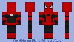 Spiderman ffh Minecraft Skin