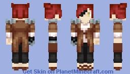 [[FNAF - Yet Newer, Yet Fancier]] Foxy Minecraft Skin