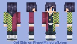 [Kimetsu no Yaiba] Giyuu Tomioka Minecraft Skin