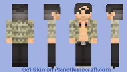 Goro Majima - Mad Dog of Shimano - One-Eyed Demon (Yakuza serie) Minecraft Skin