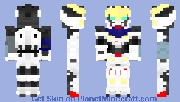 ASW-G-08 Gundam Barbatos Minecraft Skin
