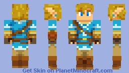 Link: Breath of the Wild (Alternates in Description! Nov. 18, 2020) Minecraft Skin