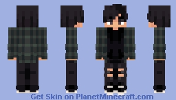 bday gift for my dingus fren c: (+2 versions) Minecraft Skin