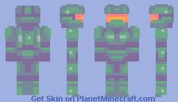 Master Chief [Halo] - Wildcard_Gamer Palette Contest Minecraft Skin