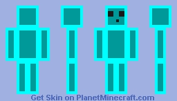 ProzillaGaming without clothes Minecraft Skin