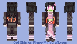 Nezuko Kamado [Demon Slayer] Minecraft Skin