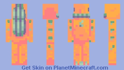 Oranang, observer of the crop Minecraft Skin