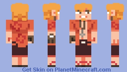 oshino meme Minecraft Skin