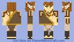 Beast man warrior Minecraft Skin