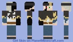 Asta (Black Asta) Minecraft Skin
