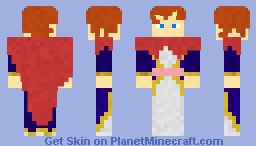 Mereoleona Vermillion Minecraft Skin