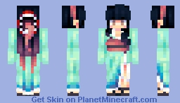 Brown Eyed Girl Minecraft Skin