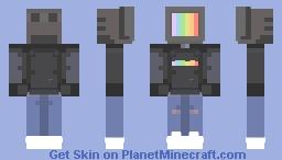 Tv head Minecraft Skin