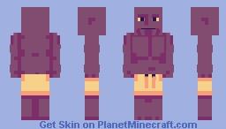 Beach Thanos Minecraft Skin