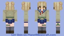 Himiko Toga - My Hero Academia / BNHA Minecraft Skin