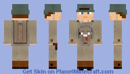 WW2 U.S Combat Engineer(ETO) Minecraft Skin