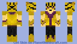 Yellowcat Skin. (Not my Idea) Minecraft Skin