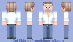 Bob Ross Minecraft Skin