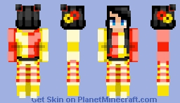 pretty little fool Minecraft Skin