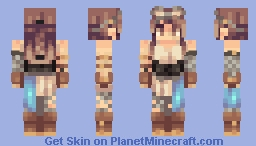 Weapons Minecraft Skin