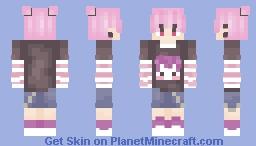 Annaru Re-shade competition Minecraft Skin