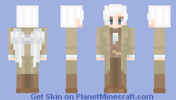 Aziraphale (with wings) Minecraft Skin