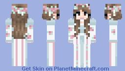 rose dress Minecraft Skin