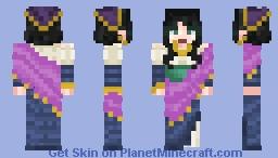 the wandering dress maker Minecraft Skin