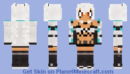 USS Alabama - Azur Lane Minecraft Skin
