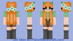 Alex (remake) Minecraft Skin