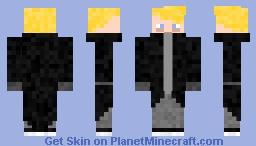 I'm back Minecraft Skin