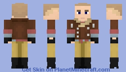 "William ""B.J."" Blazkowicz (Alts in desc.) - Wolfenstein Minecraft Skin"