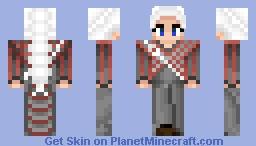 Daenerys Targaryen - Funeral Outfit Minecraft Skin