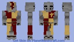 14th-century European Knight Minecraft Skin