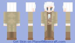 Aziraphale Minecraft Skin
