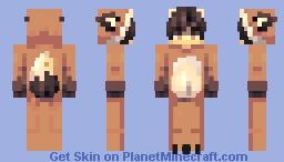 𝓷𝒶𝓭𝓲𝒶𝒫𝐵~Fox boy ッ Minecraft Skin
