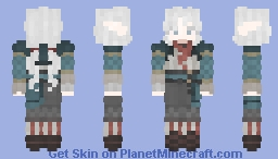 Fréa Sullas - High Elf Skin Minecraft Skin