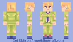 Fugo [Jojo's Bizarre Adventure] Minecraft Skin