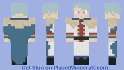 Klaus Lunettes Minecraft Skin