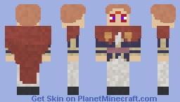 Fuegoleon Vermillion Minecraft Skin