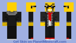 Drop0ff / DropLikeAnECake / Brandon Vaughn Minecraft Skin