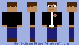 biker dude Minecraft Skin