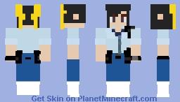 Chun-Li Story Outfit SFV Minecraft Skin