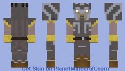 Zygerrian Soldier Minecraft Skin