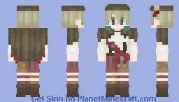 Popcorn - Food Fantasy Minecraft Skin