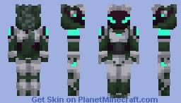Protogen model B-7 Minecraft Skin